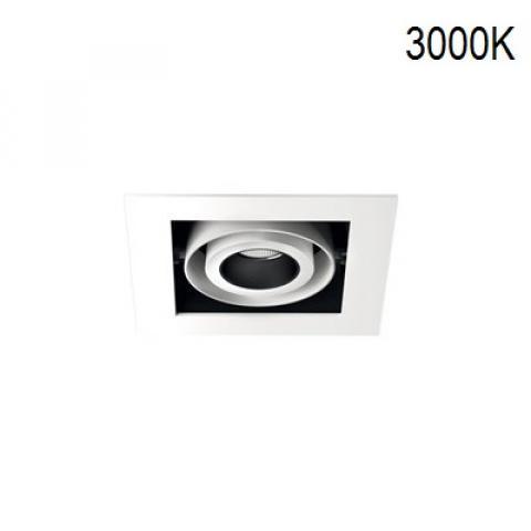 Multi-directional downlight KARDAN-IN 1X12W LED 3000K