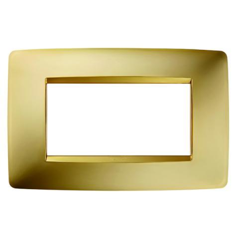 Рамка ONE 4 модула Gold