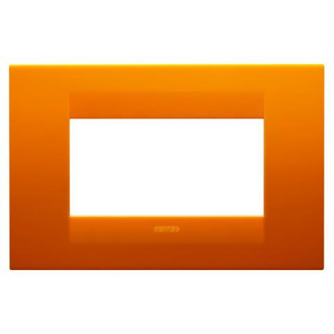 GEO plate 4 gang - Opal Orange