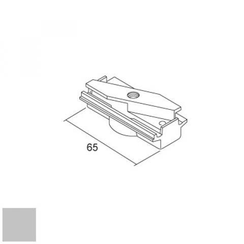 Mechanical adapter for DKM/LKM tracks - silver