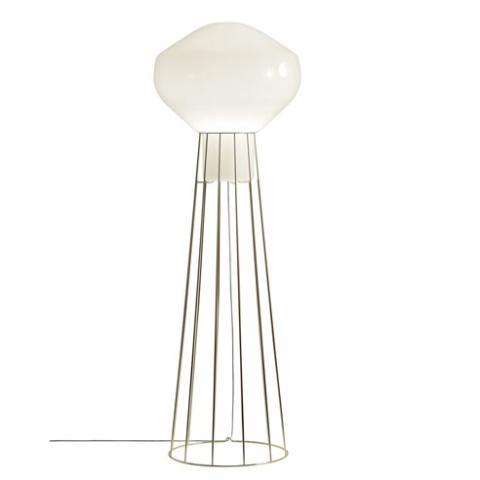 Floor Lamp H186cm Ø20cm Brass
