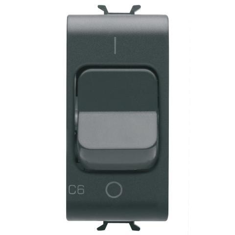Miniature circuit breaker 1P+N 6A 3kA 230V AC