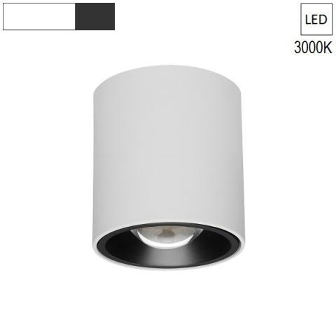 Ceiling Lamp/Spot  Ø80 H120 LED 7.5W white/black