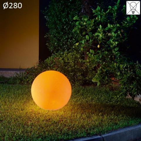 Floor lamp Ø280 E27 max 30W amber