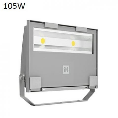 Прожектор GUELL 2 S/W LED 105W сив