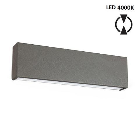 Аплик M - LED 19W 4000K - бетоново сив