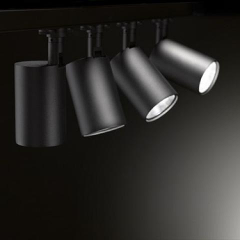 Spotlight Perfetto 230 LKM 19W 2000lm 3000K Black