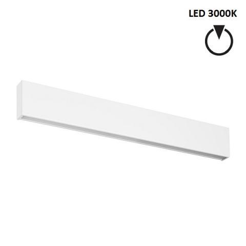 Аплик L - LED 28W 3000K - бял