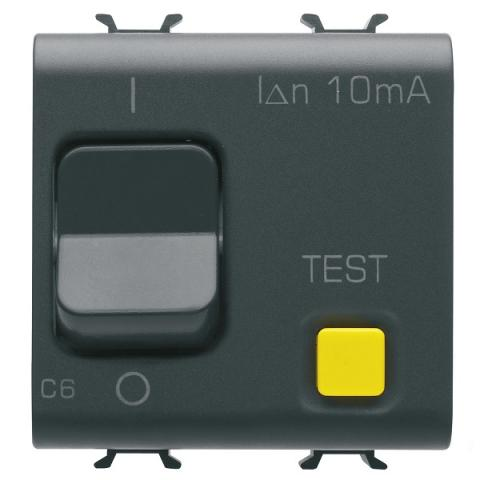 Residual miniature circuit breaker 1P+N 6A 10mA 3kA 230V AC