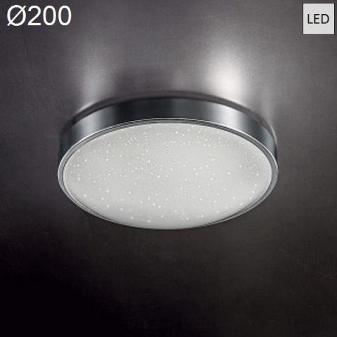 Ceiling Lamp Ø200 LED 12W 3000K Chrome