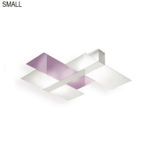 Ceiling light 40cm 1xE27 max 57W white-lilac