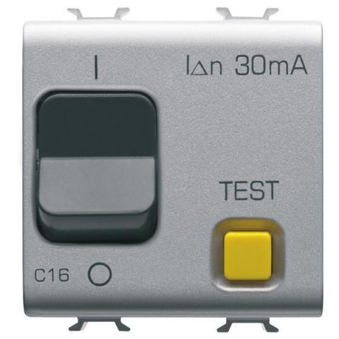 Residual miniature circuit breaker 1P+N 16A 30mA 3kA 230V AC