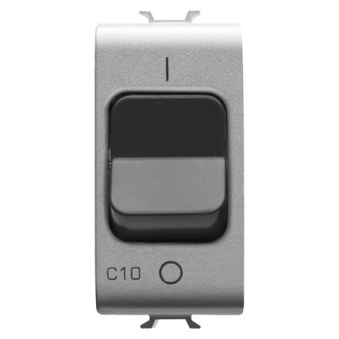 Миниатюрен автоматичен прекъсвач 1P+N 10A 3kA 230V AC