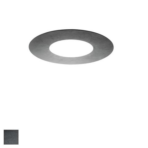 Ceiling Light 50cm grey with cement effect
