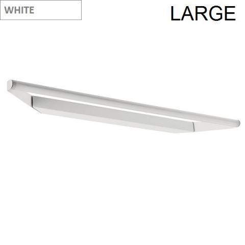 Directional wall/ceiling light 93cm LED 19W IP40 white