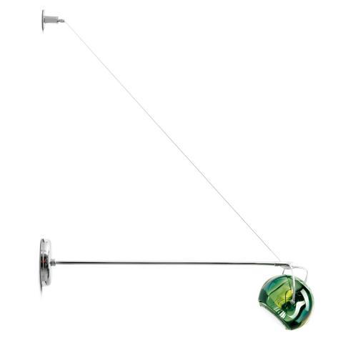 Аплик L20-45cm Ø9cm зелен