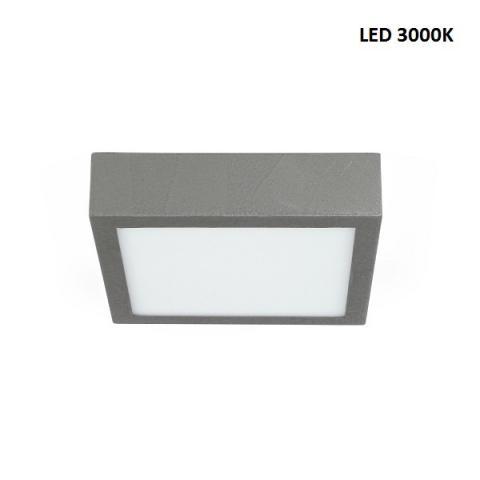 Ceiling light M - LED 17W 3000K - beton grey