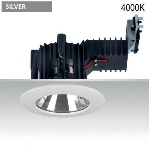 Downlight Ra 14 DIXIT LED 26W-33W-38W 4000K CRI85 silver