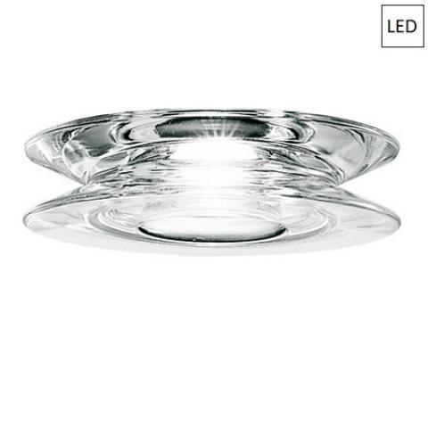 Downlight Ø14cm LED Transparent
